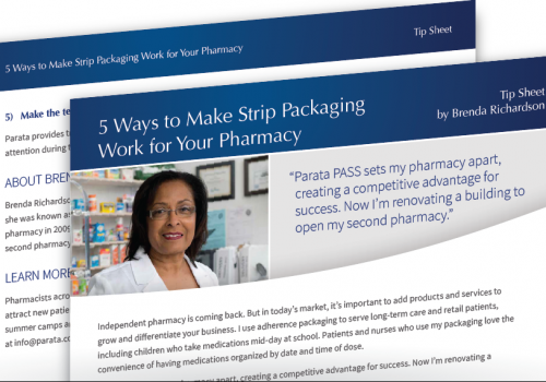 5 Ways To Make Strip Packaging Work For Your Pharmacy