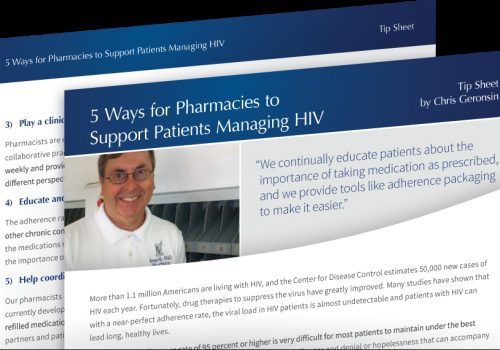 5 Ways For Pharmacies To Support Patients Managing HIV