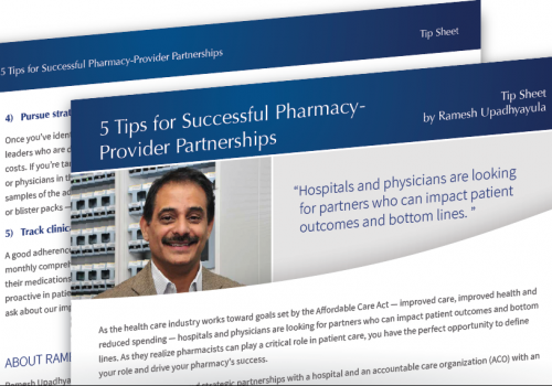 5 Tips For Successful Pharmacy-Provider Partnerships