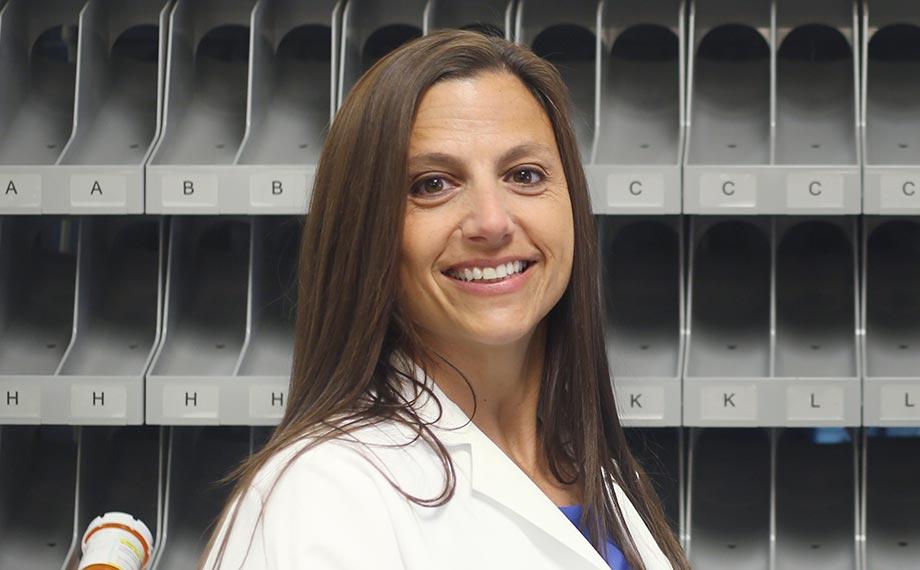 Pharmacist Diane Martin