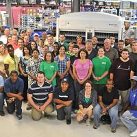 Parata's manufacturing team