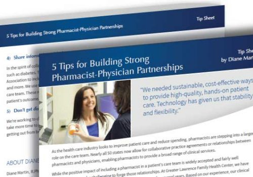 5 Tips For Building Strong Pharmacist-Physician Partnerships