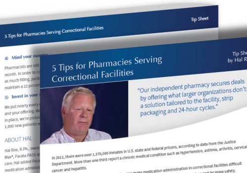 5 Tips For Pharmacies Serving Correctional Facilities