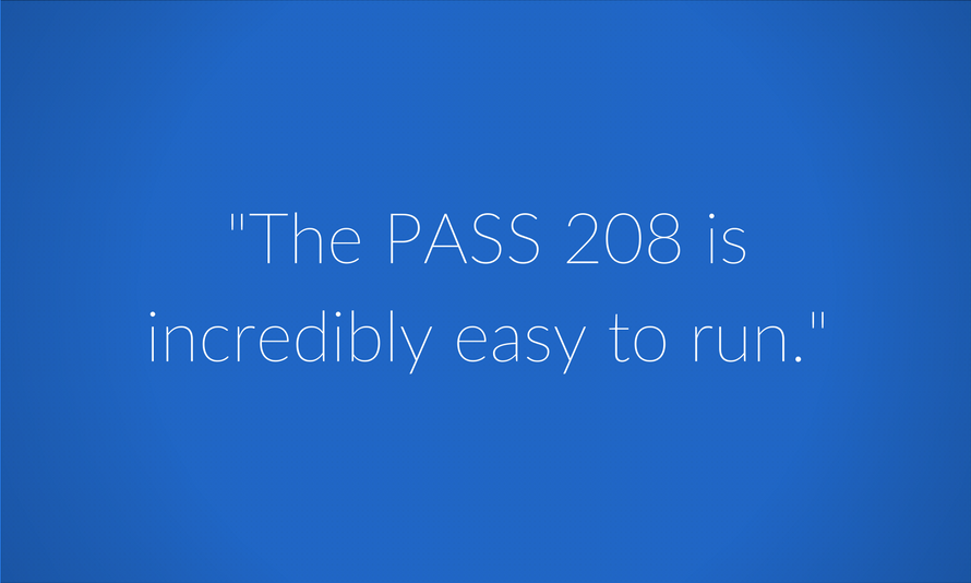 PASS is easy to run