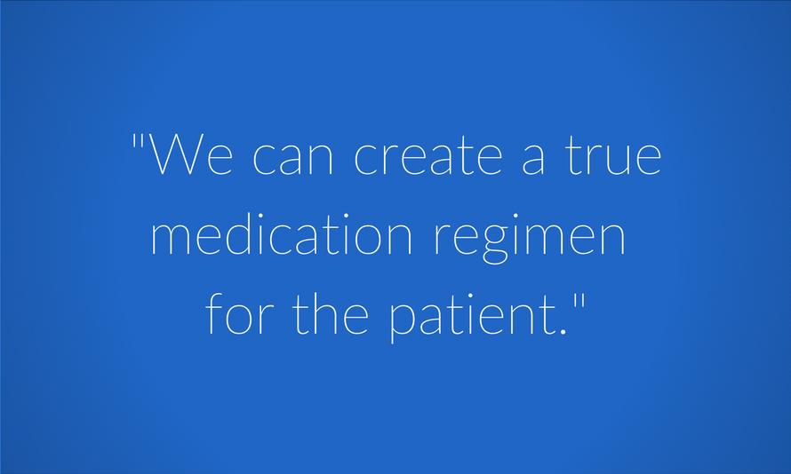 True medication regimen