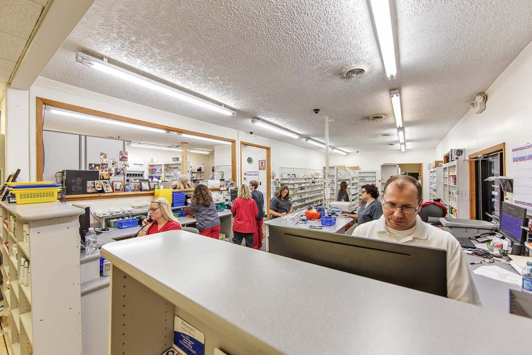 mcdowell is a successful pharmacy in a rural area