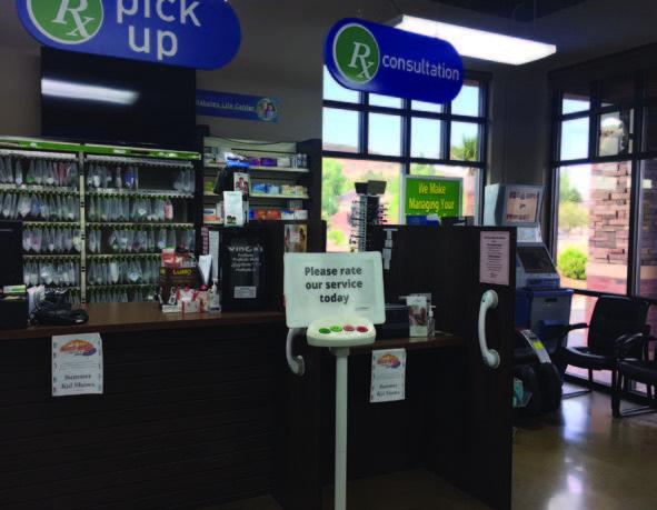 Hurricane Family Pharmacy with Beacon