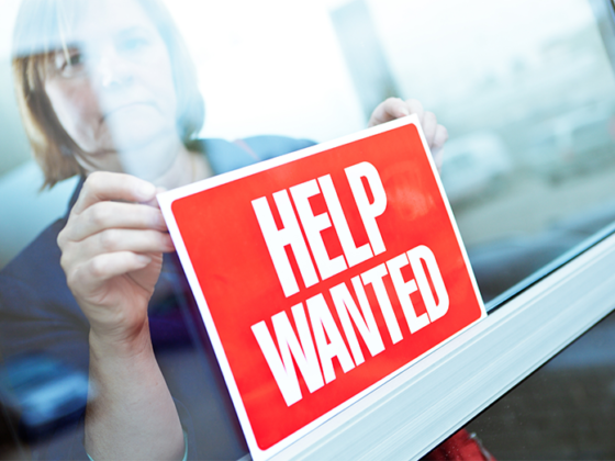 post pandemic help wanted