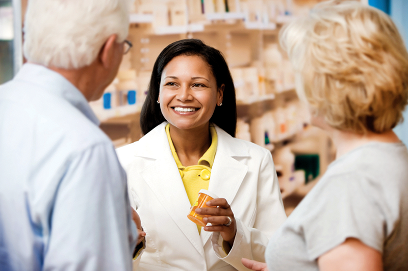 pharmacist patients pharmacy prescription drug
