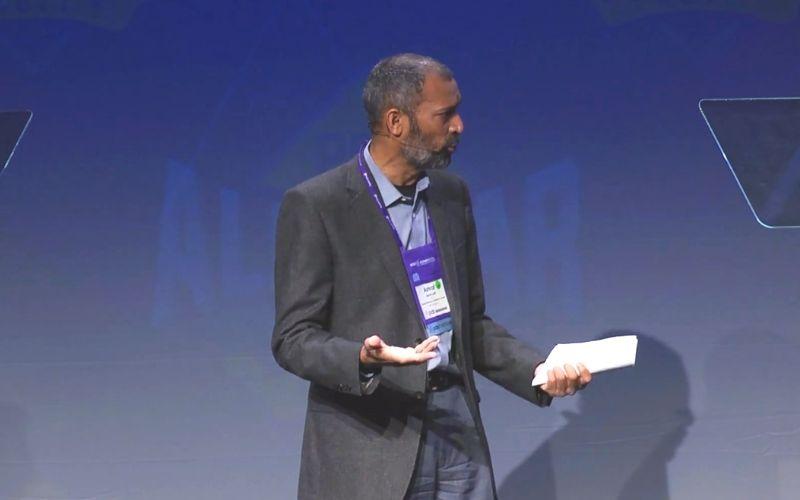 Ashraf Latif at PDS
