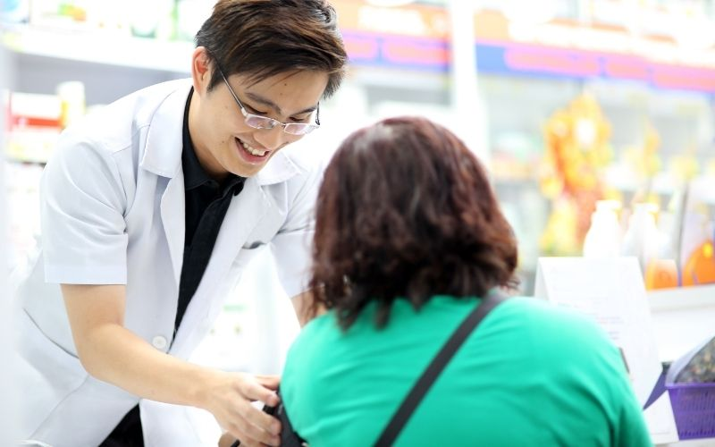 Pharmacists are the most accessible health care team member