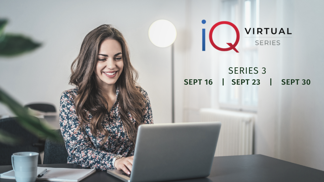 Join Parata for iQ virtual conference series 3