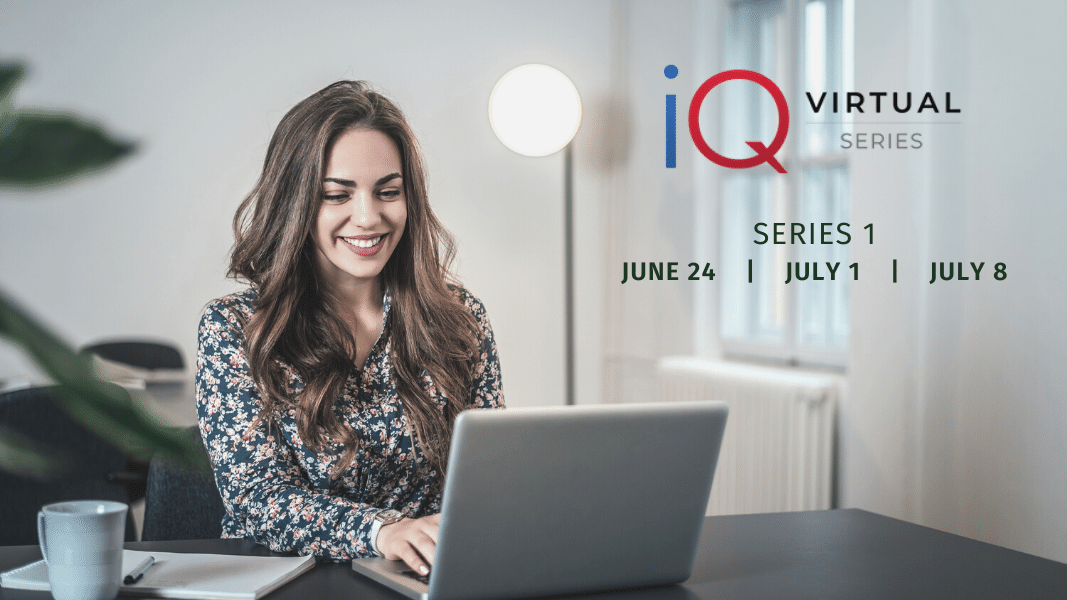 Parata attends the iQ virtual conference series