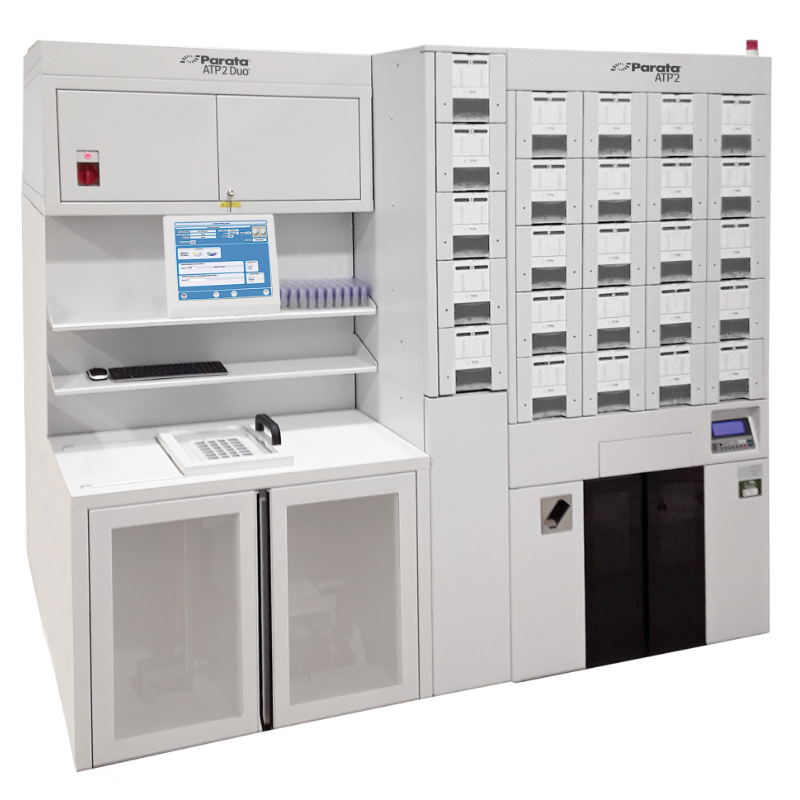 The prescription packager for both pouch and blister: ATP 2 Duo