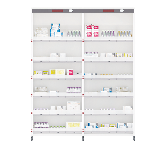 beacon 2bay shelves