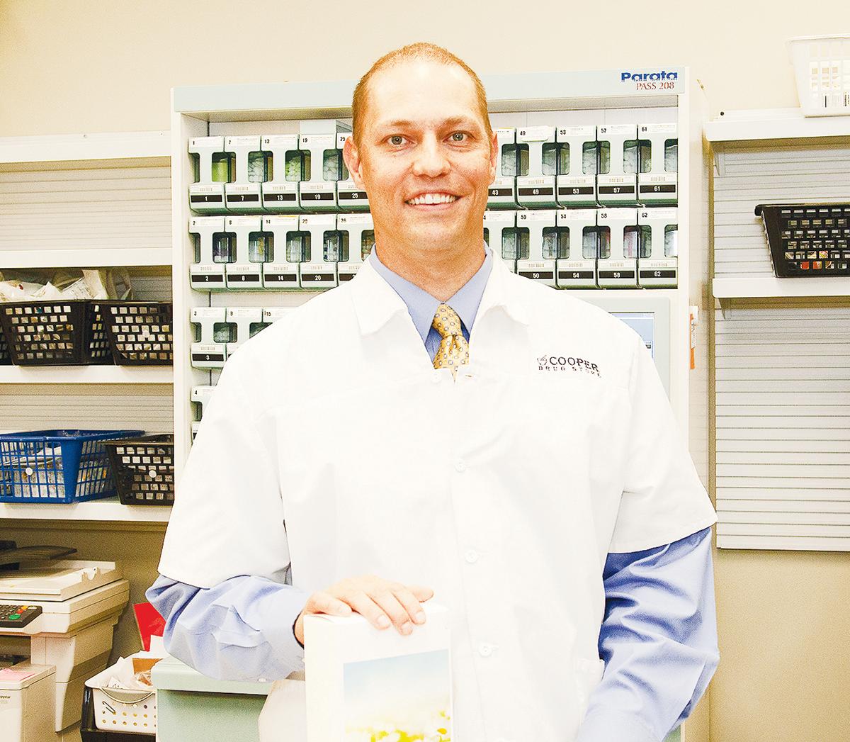 cooper drug pharmacist Brett