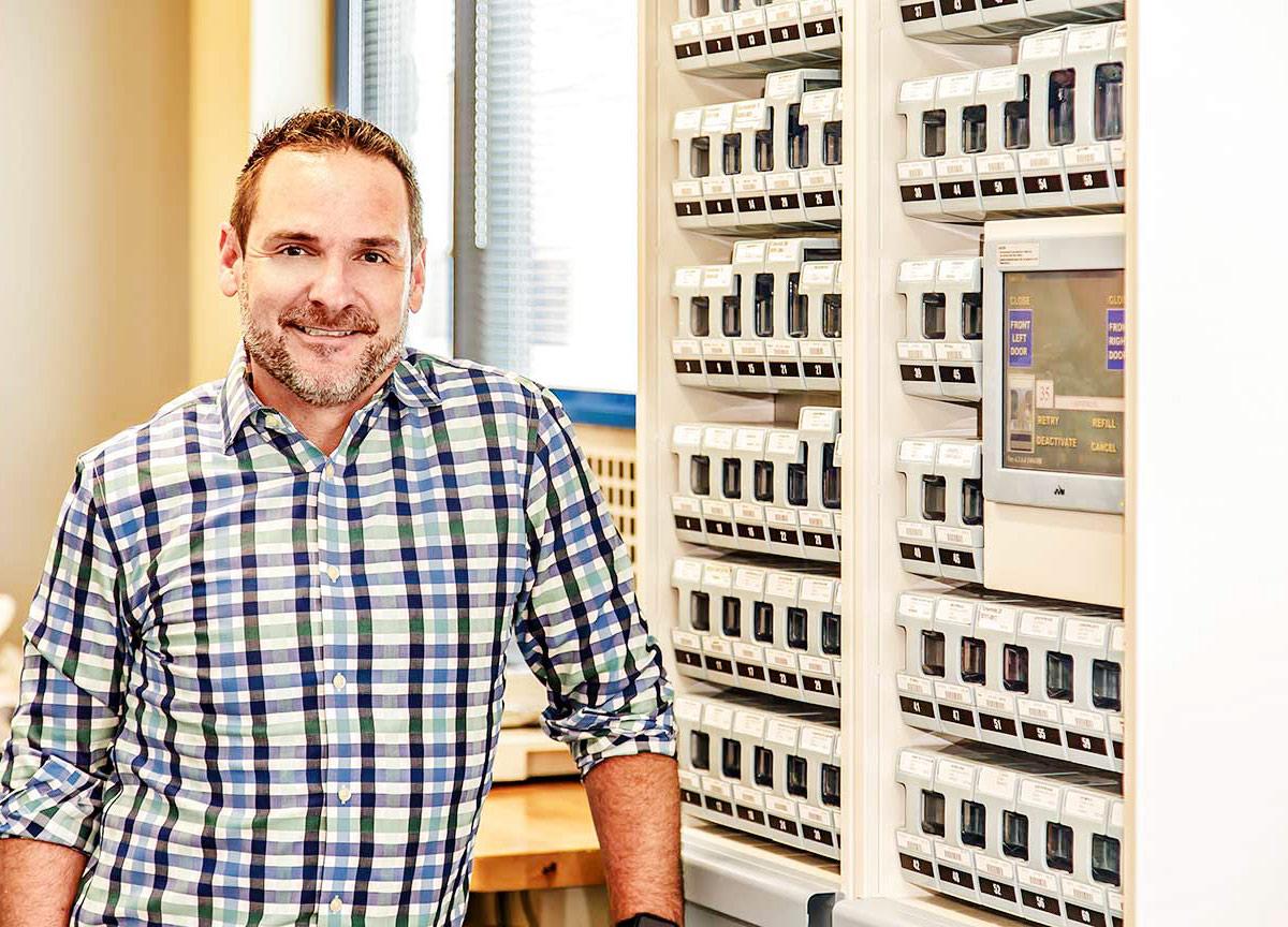 John counts on Parata at Thrive Pharmacy