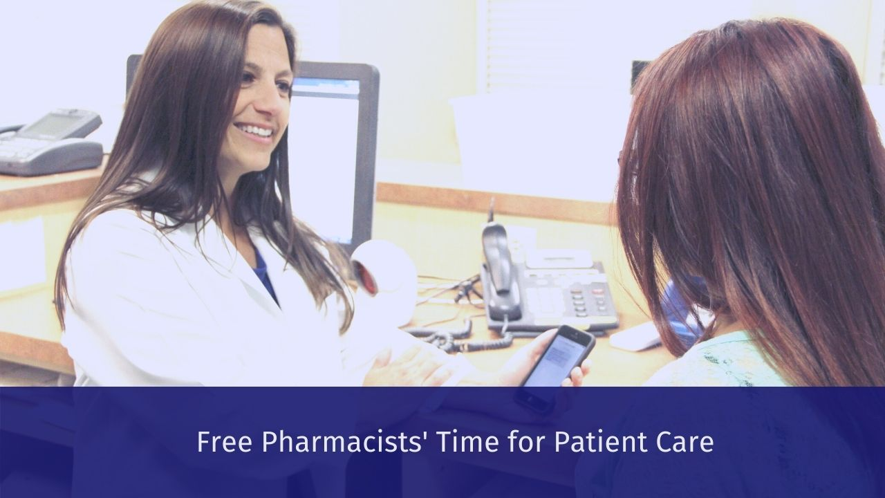 Free Pharmacists' Time for Patient Care with Max