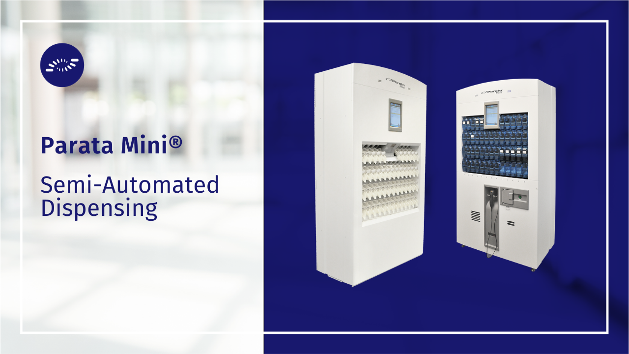 Parata Mini for compact and powerful vial dispensing automation